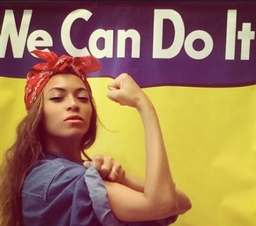 Beyonce, noua Rosie the Riveter