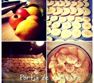 Portia de sanatate: Fructe deshidratate