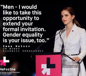 Emma Watson, noua ambasadoare a feminismului