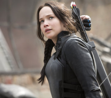"Scena preferata din ""Hunger Games: Mockingjay Part. 1"""
