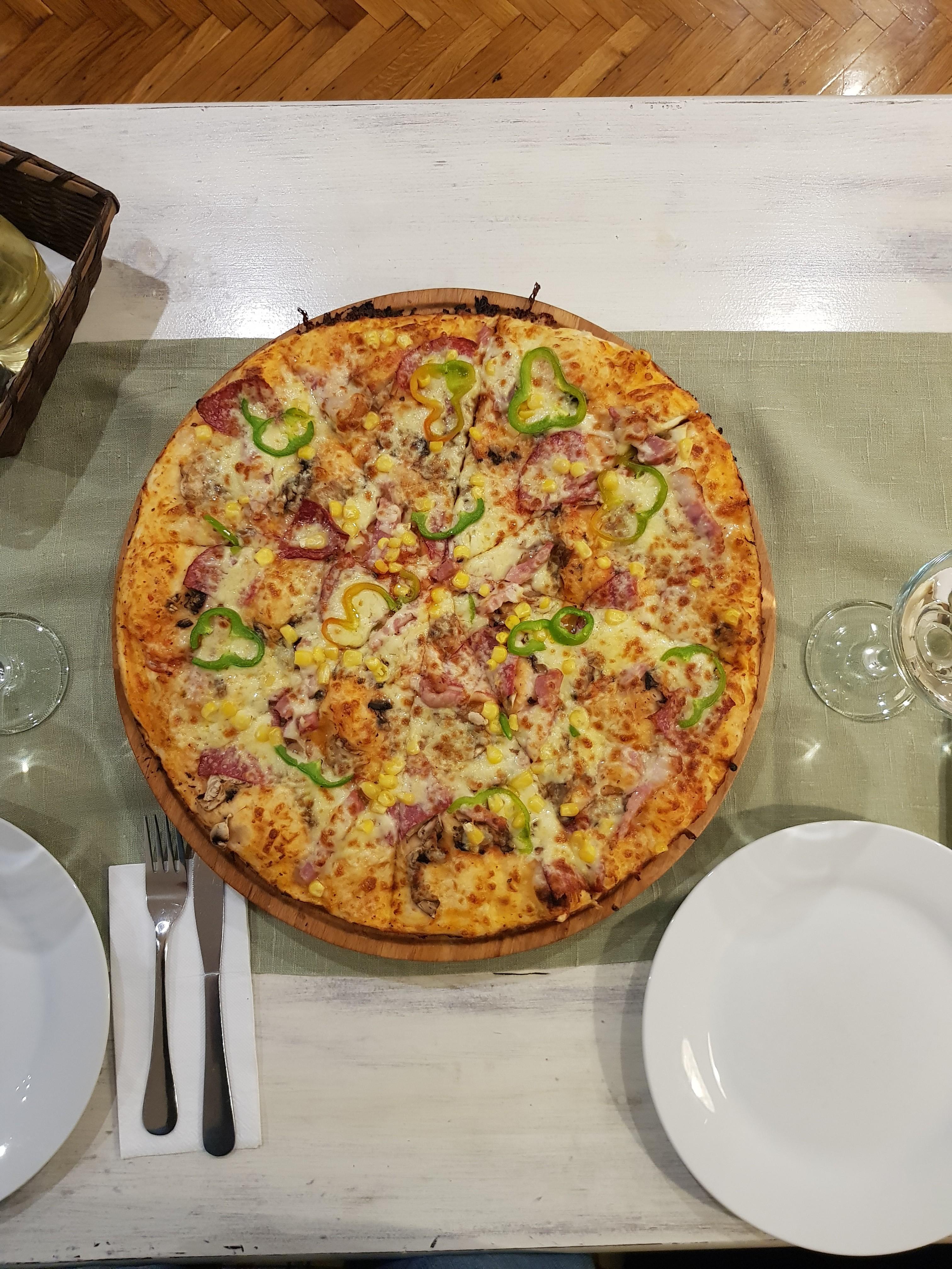 Pizza fara castraveti murati