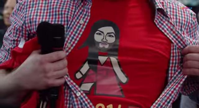 Tricou Conchita Wurst