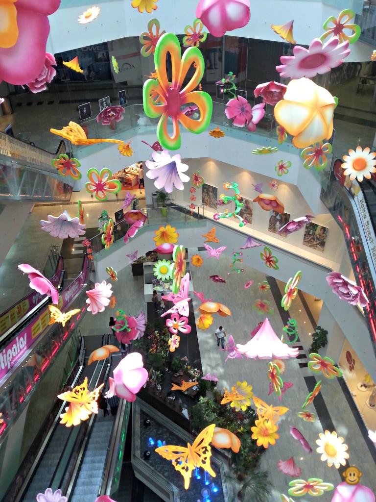 In goana spre Ipotesti - Mall Uvertura