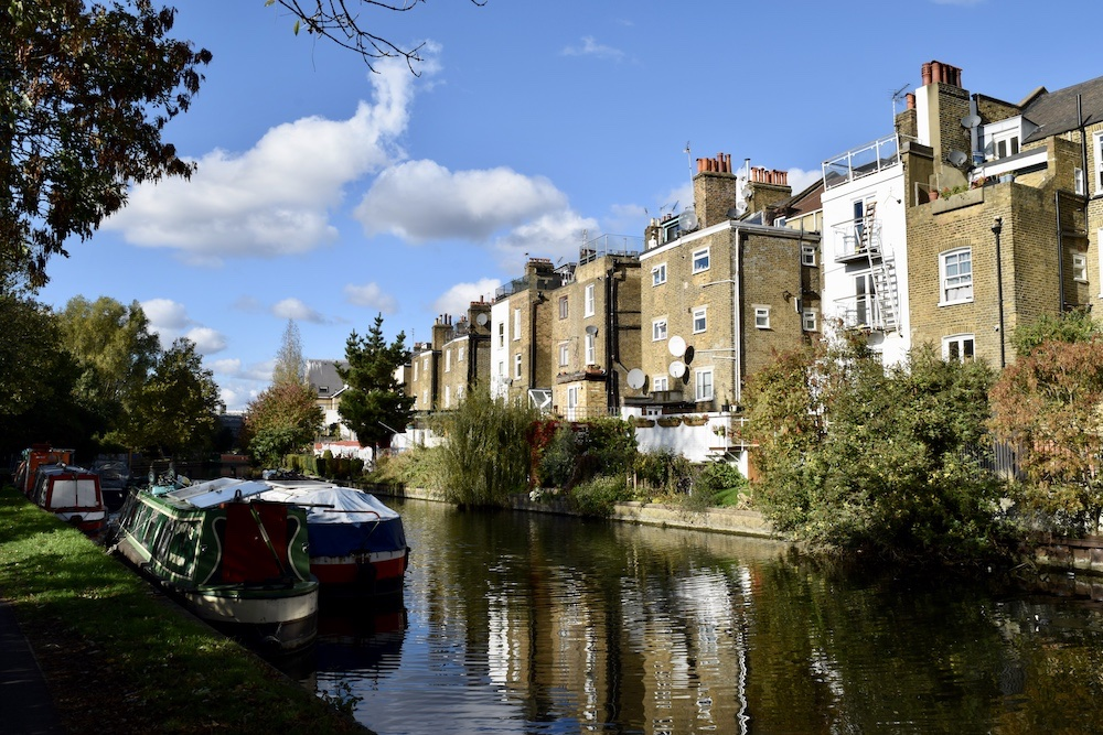 London-Little Venice-Walk