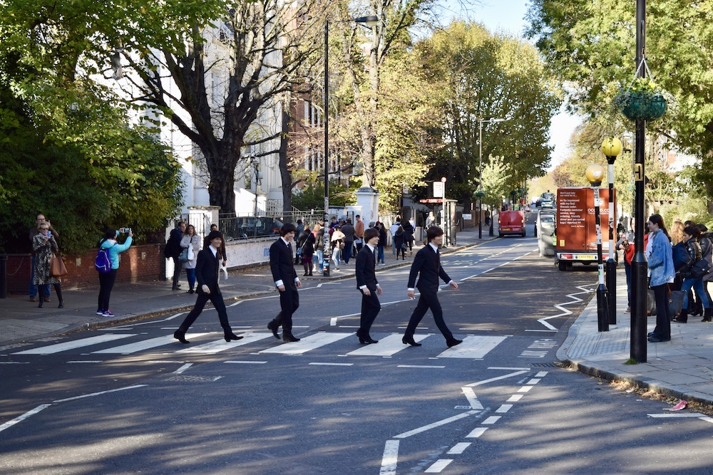 London-Abbey Road-The Fake Beatles