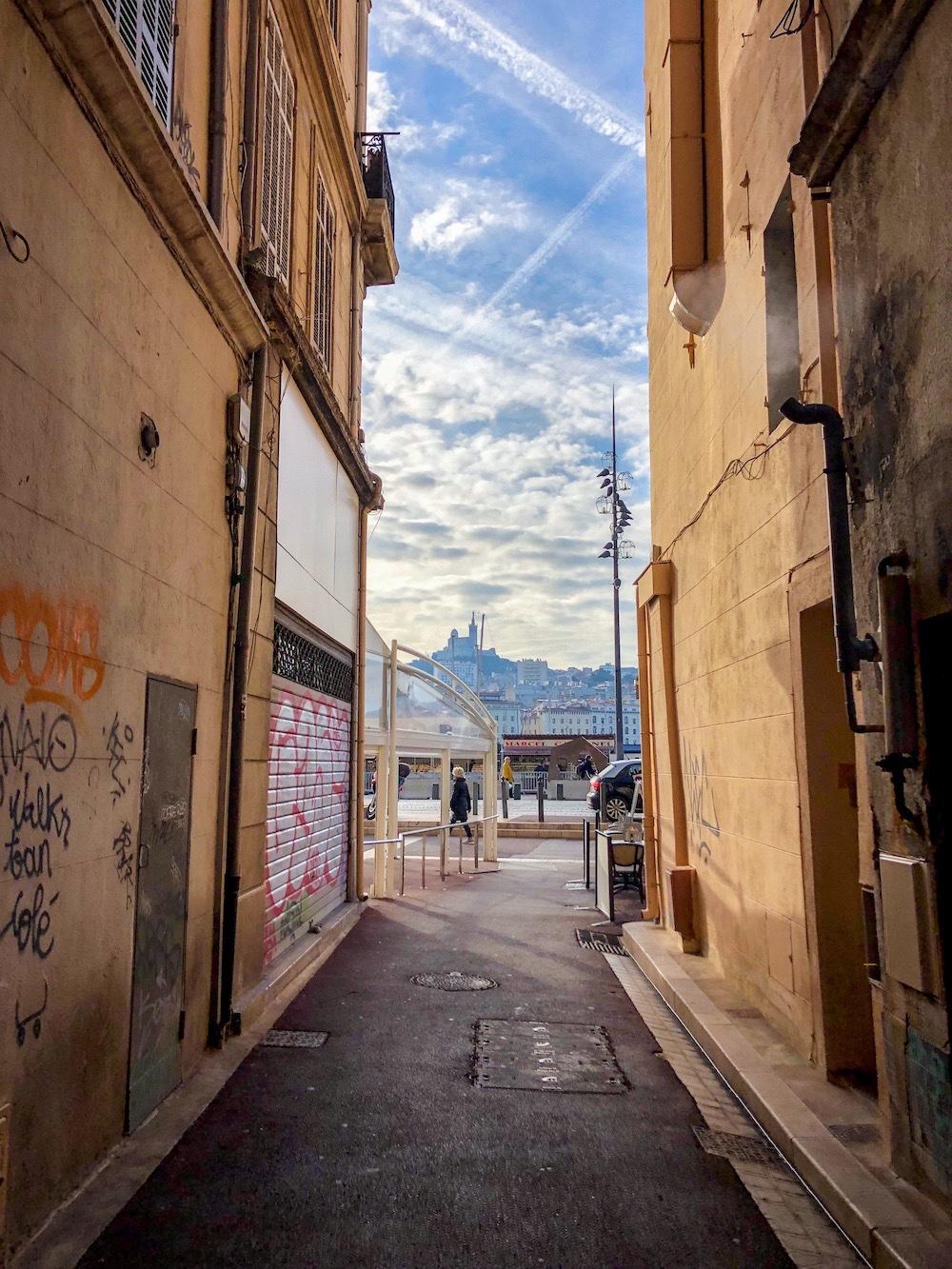 Aleea catre Vieux Port