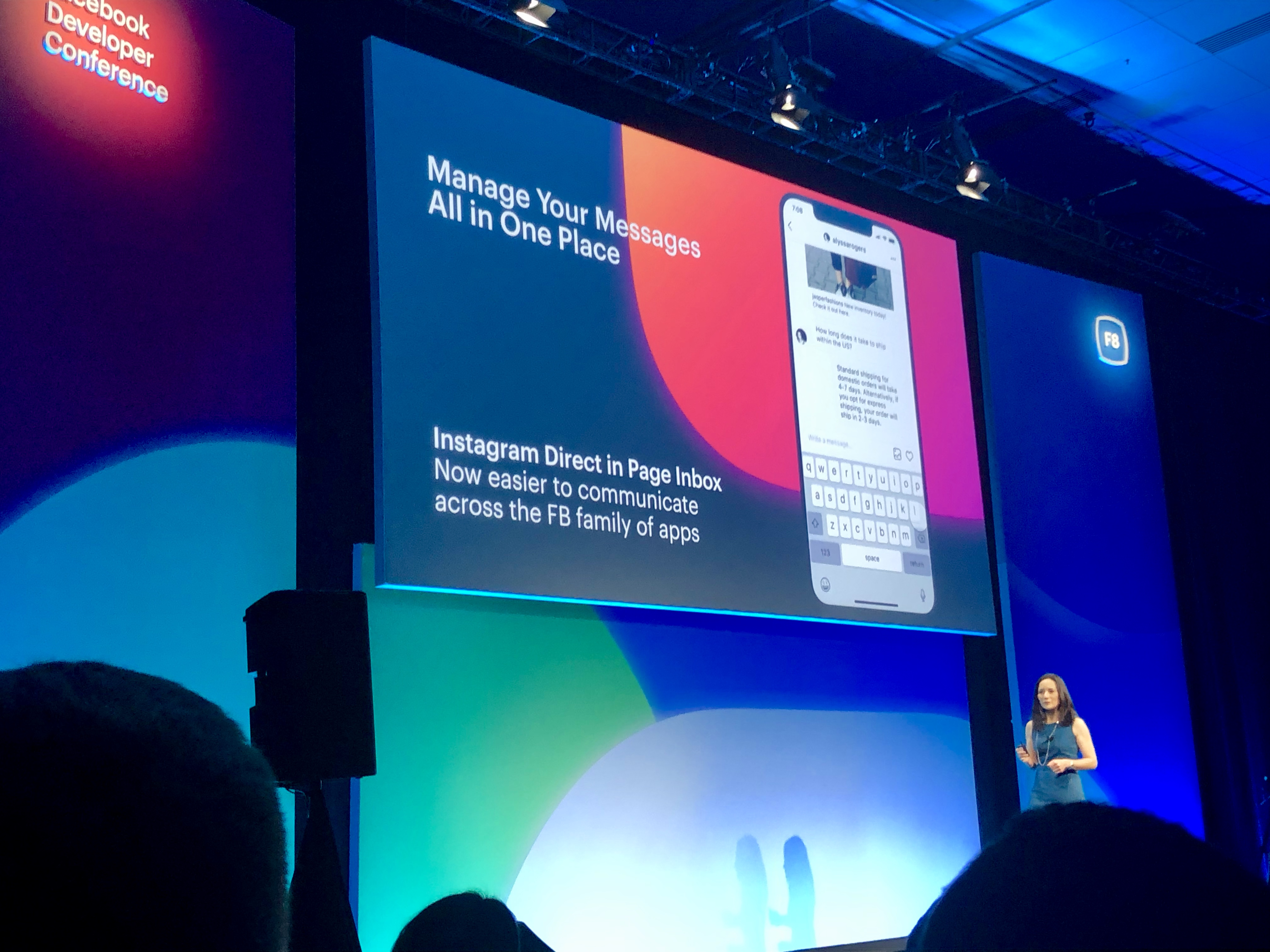 f8 - messages all in one place