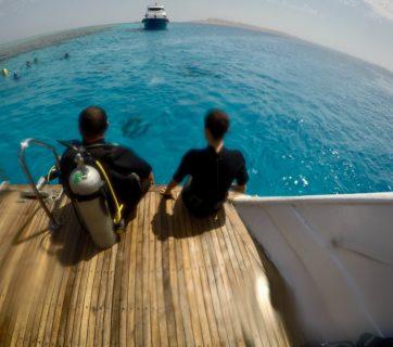 Hurghada - in barca